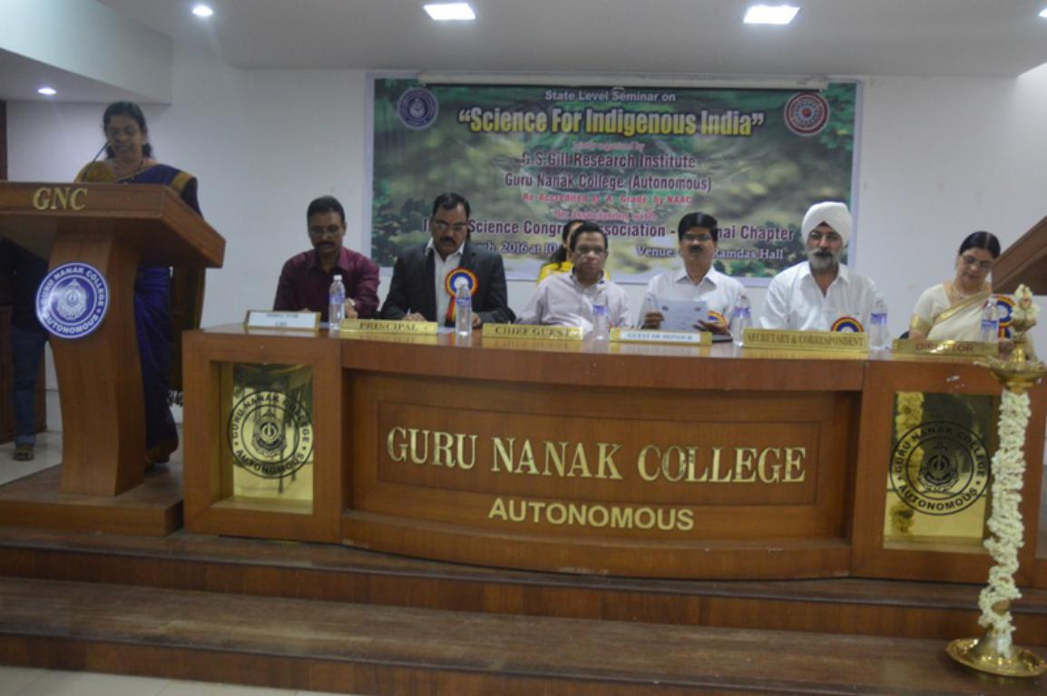SCIENCE FOR INDIGENOUS INDIA