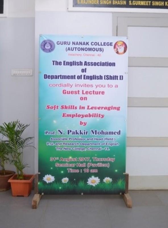 Department Of English- Shift 1 | Guru Nanak College